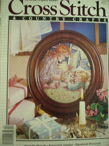 Better,Homes,and,Gardens,Cross,Stitch,Country,Crafts,Nov/Dec,1989,Better Homes and Gardens Cross Stitch and Country Crafts, Nov/Dec 1989,kg krafts,needlework,samplers, crafts,craft supplies