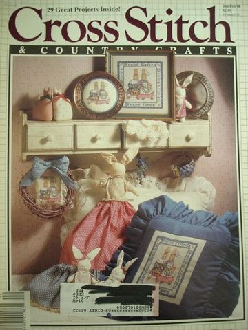 Better,Homes,and,Gardens,Cross,Stitch,Country,Crafts,Jan/Feb,1990,Better Homes and Gardens Cross Stitch and Country Crafts, Jan/Feb 1990,kg krafts,needlework, crafts,craft supplies