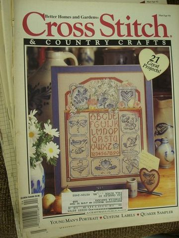 Better,Homes,and,Gardens,Cross,Stitch,Country,Crafts,Mar/April,93',Better Homes and Gardens Cross Stitch and Country Crafts, Mar/April 1993,kg krafts, counted cross stitch,needlework,patterns, instructions,charts, crafts,craft supplies
