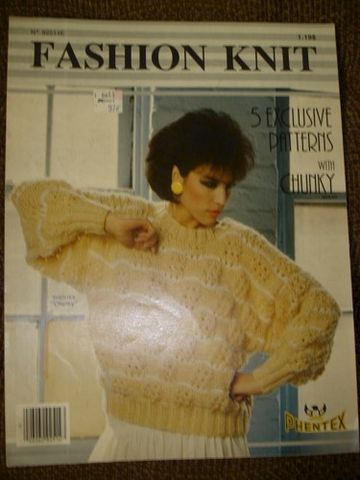 Fashion,Knit,by,Phentex,Five,Sweaters,no.,92514E,Fashion Knit by Phentex Five Knit Sweaters no. 92514E,knit,kg krafts, craft supplies,crafts,supplies