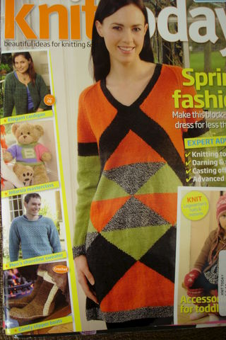 Knit,Today,Magazine,issue,31,March,knit today,magazine,issue 31,march,knitting,patterns,sweaters,toys,socks,kg krafts