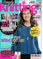 Simply,Knitting,Magazine,issue,90,Alan,Dart's,Nursey,Rhyme,simply knitting magazine issue 90,knit,crochet,patterns,instructions,alan dart,nursery rhyme,kg krafts