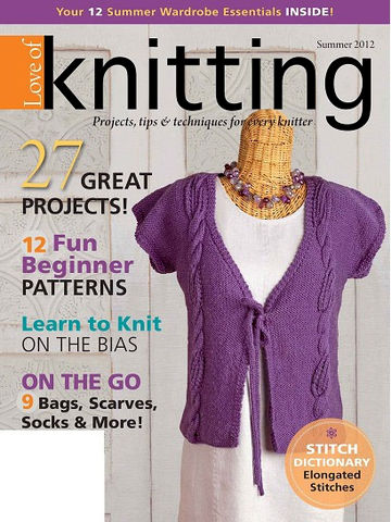 Fons,and,Porter,Love,of,Knitting,Summer,2012,love of knitting,fons and porter,patterns,knit,crochet,kg krafts