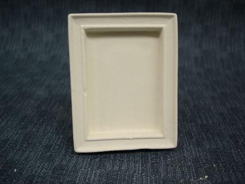 Rectangle,Mini,Picture,Frame,Favor,or,Onament,picture frame,ceramic bisque,kg krafts,ready to paint