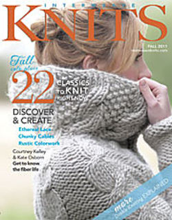 Interweave,Knits,Magazine,Fall,2011,Interweave Knits Magazine Fall 2011,cable knit,knits,knitting patterns,kg krafts