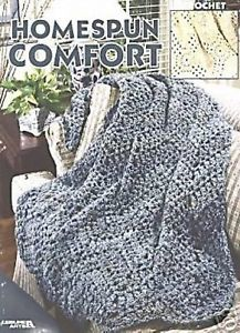 Homespun,Comfort,by,Leisure,Arts,Homespun Comfort by Leisure Arts,kg krafts,crochet,afghans