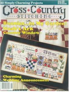 Cross,Country,Stitching,June,1996,Cross Country Stitching June 1996,kg krafts,needlework,count cross stitch