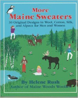 More,Maine,Sweaters,by,Helene,Rush,More Maine Sweaters by Helene Rush,kg krafts, maine woods woolies,knitting patterns