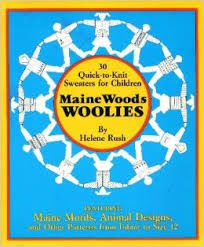30,Quick,to,Knit,Sweaters,for,Children,Maine,Woods,Woolies,by,Helen,Rush,30 Quick to Knit Sweaters for Children Maine Woods Woolies by Helen Rush,kg krafts,patterns