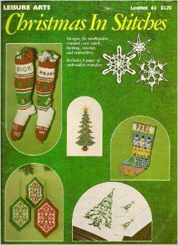Leisure Arts Christmas In Stitches - product images