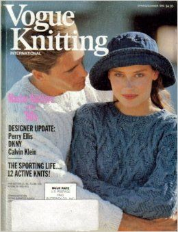 Vogue,Knitting,Spring/Summer,1990,Vogue Knitting, Spring/Summer 1990, Classic Vogue, sweaters, family knit, designers