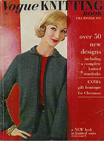 Vogue,Knitting,Vintage,Fall/Winter,1995,Vogue Knitting,Vintage Fall/Winter 1959, Classic Vogue, sweaters, family knit, designers