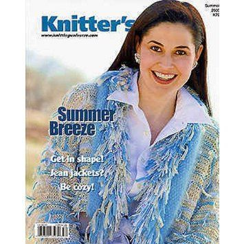 Knitter's,Magazine,Summer,2005,by,Knitting,Universe,Knitters Magazine, Summer 2005, Knitting Universe patterns, designs, trendy, colorful, sensational, magazine, knit, crochet, patterns, instructional