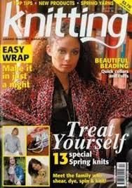 Knitting,Magazine,April,2007,Knitting Magazine April 2007,knitting,kg krafts,crochet,england