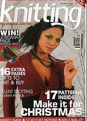 Knitting,Magazine,December,2005,no,19,Knitting Magazine December 2005 no 19,knitting,kg krafts,crochet,england