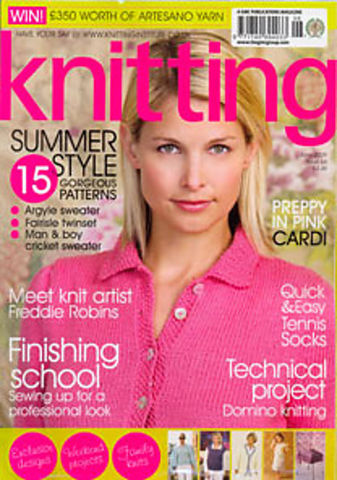 Knitting,Magazine,June,2009,Knitting Magazine June 2009,knitting,kg krafts,crochet,england