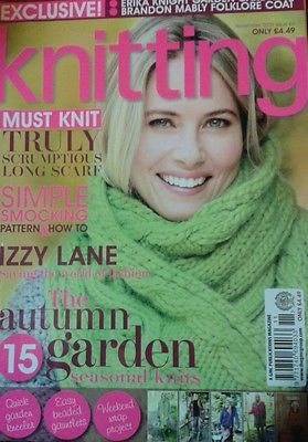 Knitting,Magazine,November,2009,no,69,Knitting Magazine November 2009 no 69,knitting,kg krafts,crochet,england