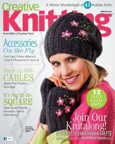 Creative,Knitting,Winter,2012,Creative Knitting  Winter 2012,kg krafts,craft supplies,knit,crochet