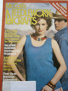 McCalls,Needlework,and,Crafts,June,1987,McCalls Needlework & Crafts jnue 1987,kg krafts,knit,crochet,craft, patterns