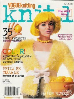 Knit.1,Vogue,Knitting,Magazine,Summer,2006,Knit.1 Vogue Knitting Magazine Summer 2006,knit,crochet,kg krafts