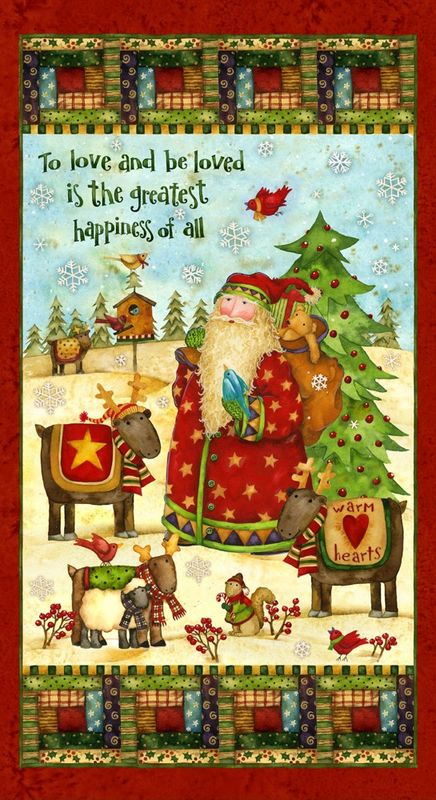 Santa's Journey Cotton Fabric by SPX - product image