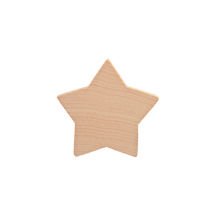Wood Stars Hardwood Cutouts - product images