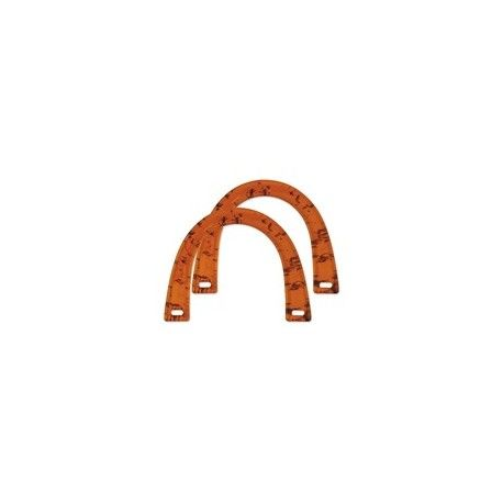 Clover Bag's and Tote's Handles U-shape Amber 2pc set - product images