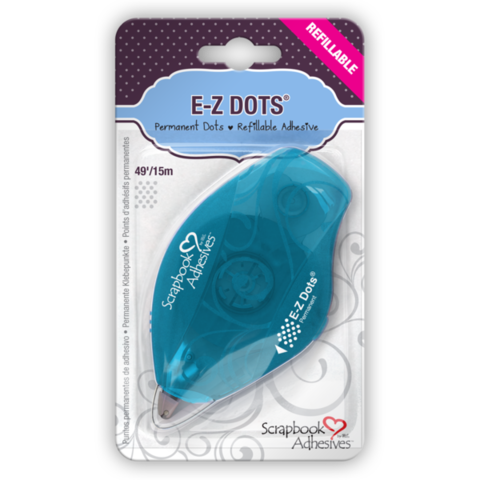 E-Z,Dots®,Permanent,Refillable,Dispenser,by,Scrapbook,Adhesives,from,3L,scrapbook adhesives,kg krafts,scrapbook supplies,card making supplies,craft supplies,paper crafts