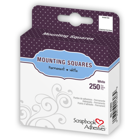 Mounting,Squares,from,Scrapbook,Adhesives,by,3L,scrapbook adhesives,kg krafts,craft supplies,paper crafts,card making supplies,scrapbook supplies