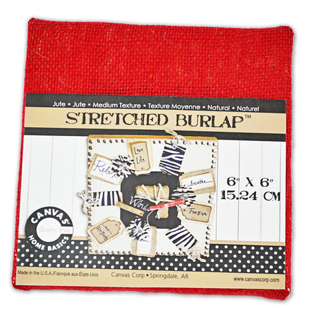 6,x,inch,Stretched,Burlap,Canvas,stretched burlap,scrapbook suppies,home decor,kg krafts, canvas corp,craft supplies, artist supplies
