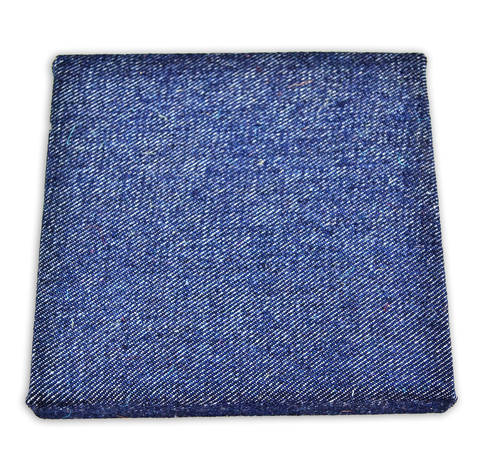 6 x 6 inch Stretched Denim Canvas - product image