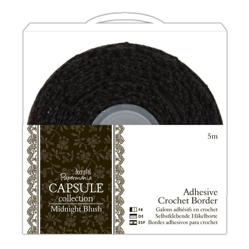 5m Adhesive Crochet Borders - Capsule Collection - Parisienne Blue - product image