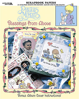 Precious,Moments,-,Blessings,From,Above,from,Leisure,Arts,Leisure Arts, Precious Moments - Blessings From Above,kg krafts,cards,card supplies,scrapbook supplies,craft supplies