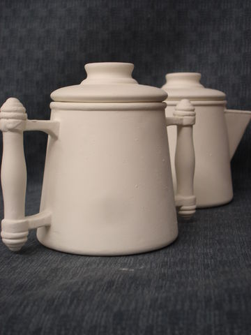 Colonial,Style,Sugar,and,Creamer,two,Piece,Set,Ceramic,Bisque,Ready,to,Paint,Colonial Style Sugar and Creamer set,ceramic., Bisque, Ready to Paint,ready to finish,kg krafts