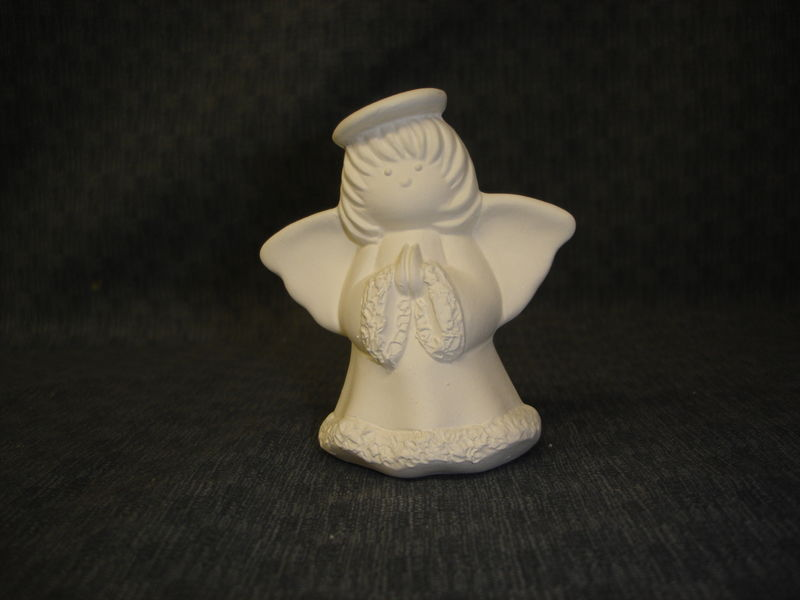 Angel Ornaments Ceramic Bisque Ready to Paint - product images