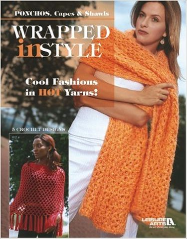 Leisure,Arts,Wrapped,in,Style,Leisure Arts Wrapped in Style,kg krafts,knit,crochet