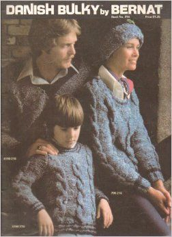 Danish,Bulky,by,Bernat,Book,no,216,bernat,danish bulky,book no 216,knit,crochet,fashions,sweaters,hats