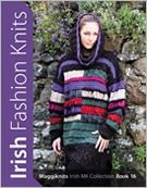 Irish,Fashion,Knits,by,Maggiknits,MK,Collection,Book,16,Irish Fashion Knits, by Maggiknits, Irish MK Collection, Book 16,kg krafts,knit,patterns,sweaters,purse