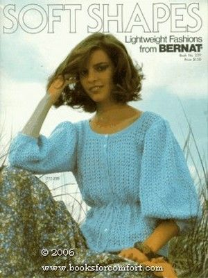 Soft,Shapes,Lightweight,Fashions,from,Bernat,book,no,289,Soft Shapes Lightweight Fashions, from Bernat, book no 289,knit, crochet,kg krafts,patterns,summer,spring