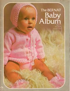 The,Bernat,Baby,Album,book,187,The Bernat Baby Album, book 187,bernat yarns,knit,crochet,patterns,baby patterns