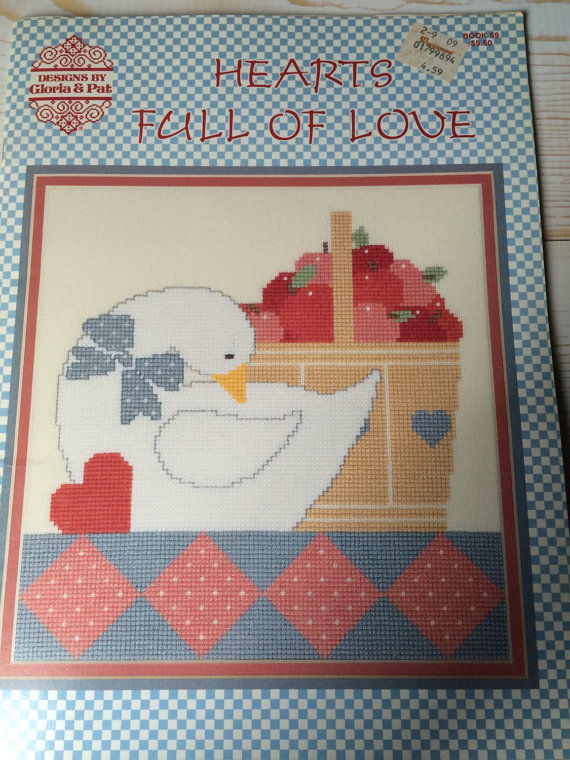 Hearts Full of Love Designs by Gloria and Pat book no 59 - product images