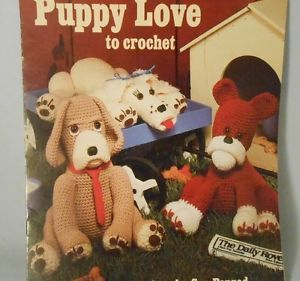 Puppy,Love,to,Crochet,by,Sue,Penrod,Leisure,Arts,1076,Puppy Love to Crochet,Sue Penrod, Leisure Arts 1076,kg krafts,knit,crochet