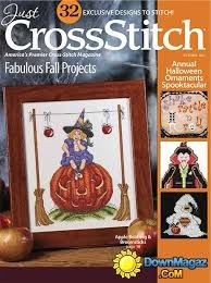 Just Cross Stitch Magazine October 2015 - product images