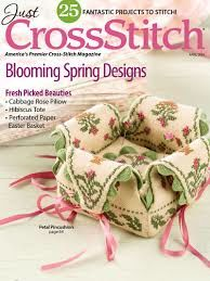 Just,Cross,Stitch,Magazine,April,2014,Just Cross Stitch  Magazine April 2014 ,kg krafts,counted cross stitch,needlework, crafts,craft supplies
