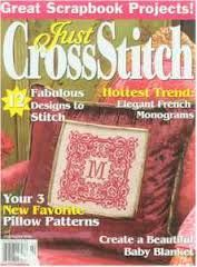 Just,Cross,Stitch,Magazine,February,2006,Just Cross Stitch  Magazine February 2006,kg krafts,counted cross stitch,needlework, crafts,craft supplies