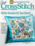 Just,Cross,Stitch,Magazine,February,2014,Just Cross Stitch  Magazine February 2014,kg krafts,counted cross stitch,needlework, crafts,craft supplies