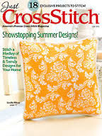 Just,Cross,Stitch,Magazine,June,2015,Just Cross Stitch  Magazine June 2015,kg krafts,counted cross stitch,needlework, crafts,craft supplies