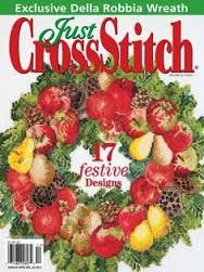 Just,Cross,Stitch,Magazine,November/December,2012,Just Cross Stitch  Magazine November/December 2012,kg krafts,counted cross stitch,needlework, crafts,craft supplies