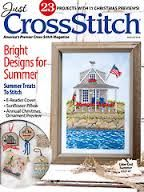 Just,Cross,Stitch,Magazine,August,2014,Just Cross Stitch  Magazine August 2014,kg krafts,counted cross stitch,needlework, crafts,craft supplies