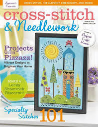 Cross-Stitch,&,Needlework,Magazine,March,2012,Cross-Stitch & Needlework Magazine march 2012,kg krafts,Cross stitch, needlework, needlepoint, beadwork ,